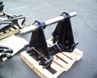 Mack Eagles and Mack Trunnion stands