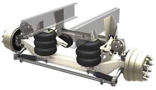 RSS 232 13K ridewell lift axle suspensions stengel bros inc