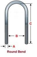 suspensio round u-bolts